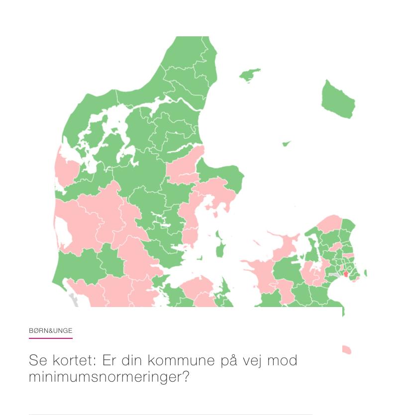 Se om din kommune er på vej mod minimumsnormeringer